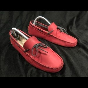 Lacoste Red Loafers 7